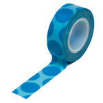 Queen and Company - Trendy Tape - Mega Dot Blue