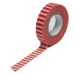 Queen and Company - Trendy Tape - Skinny Mini - Red Stripe