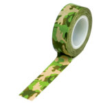 Queen and Company - Trendy Tape - Camouflage Green