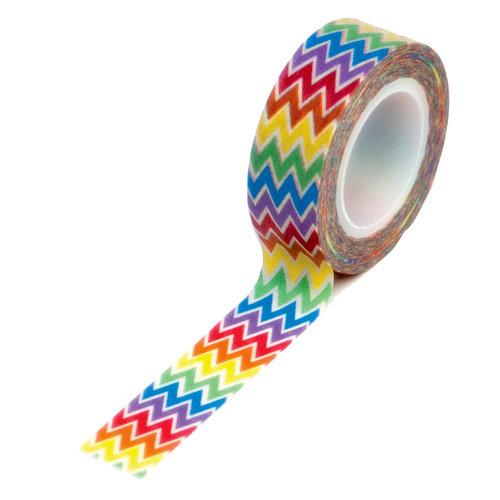 Queen and Company - Trendy Tape - Rainbow Chevron
