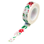 Queen and Company - Trendy Tape - Christmas - Holiday Flowers