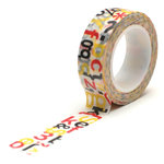 Queen and Company - Magic Collection - Trendy Tape - Word Jumble
