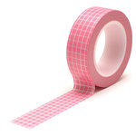 Queen and Company - Trendy Tape - Grid Pink