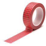 Queen and Company - Trendy Tape - Grid Red