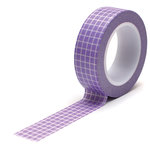 Queen and Company - Trendy Tape - Grid Lavender