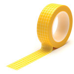 Queen and Company - Trendy Tape - Grid Yellow
