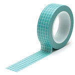 Queen and Company - Trendy Tape - Grid Teal