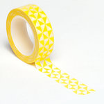 Queen and Company - Trendy Tape - Pinwheel Yellow