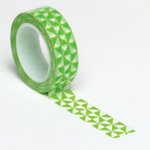 Queen and Company - Trendy Tape - Pinwheel Green