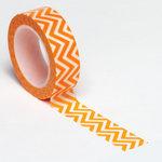 Queen and Company - Trendy Tape - Small Chevron Orange