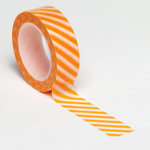 Queen and Company - Trendy Tape - Diagonal Stripe Orange