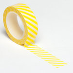 Queen and Company - Trendy Tape - Diagonal Stripe Yellow