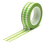 Queen and Company - Trendy Tape - Diamonds Green
