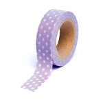 Queen and Company - Trendy Tape - Polka Dot Purple