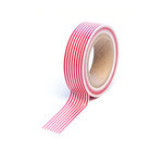Queen and Company - Trendy Tape - Stripes Red