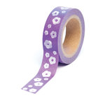 Queen and Company - Trendy Tape - Flowers Purple