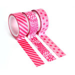 Queen and Company - Tape Trio - Trendy Tape - Pink