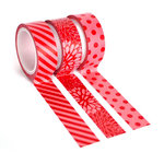 Queen and Company - Tape Trio - Trendy Tape - Red