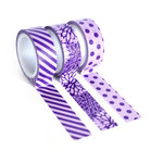 Queen and Company - Tape Trio - Trendy Tape - Purple