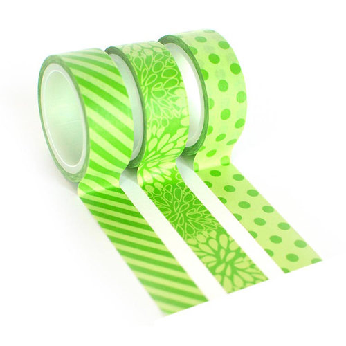 Queen and Company - Tape Trio - Trendy Tape - Green
