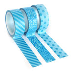 Queen and Company - Tape Trio - Trendy Tape - Blue
