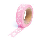 Queen and Company - Trendy Tape - Flowers Pink
