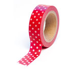 Queen and Company - Magic Collection - Trendy Tape - Polka Dot Red