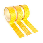 Queen and Company - Tape Trio - Trendy Tape - Yellow