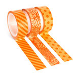 Queen and Company - Tape Trio - Trendy Tape - Orange