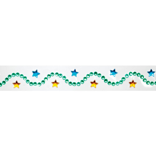 Queen and Company - Summer Collection - Twinkle Border - Self Adhesive Rhinestone Border - Summer