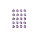 Queen and Company - Bling - Self Adhesive Rhinestones - Goosebumps - Light Purple
