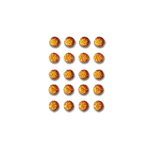 Queen and Company - Bling - Self Adhesive Rhinestones - Goosebumps - Orange