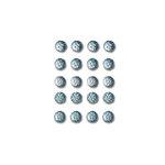 Queen and Company - Bling - Self Adhesive Rhinestones - Goosebumps - Denim