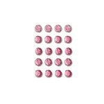 Queen and Company - Bling - Self Adhesive Rhinestones - Goosebumps - Hot Pink