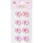 Queen and Company - Bling - Self Adhesive Rhinestones - Wallflowers - Pink