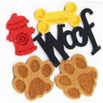 Queen and Company - Felt Frenzy - Felt Pieces - Dog