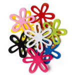 Queen and Company - Felt Flower Mix - Large - 50 Pieces