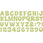 QuicKutz - All-on-One Mini Unicase Alphabet Die Set - Aquarius
