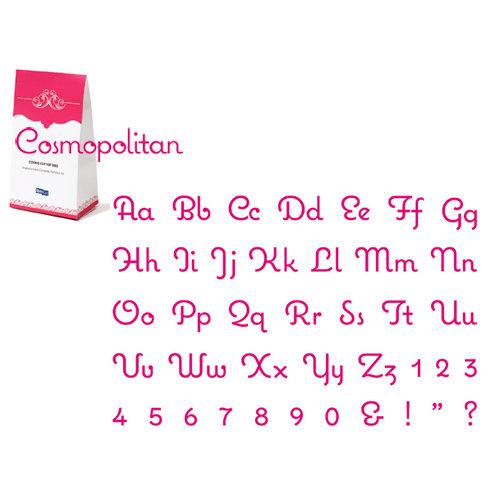 Quickutz - Cookie Cutter Dies - Complete Alphabet Set - Cosmopolitan, CLEARANCE