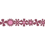 QuicKutz - Cookie Cutter Dies - 12 Inch Border - Flowers, CLEARANCE