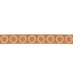 QuicKutz - Cookie Cutter Dies - 12 Inch Border - Circle Flowers