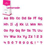QuicKutz - Cookie Cutter Dies - SkinniMini Complete Alphabet Set - Lemonade, CLEARANCE