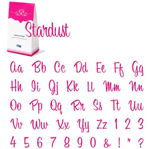 QuicKutz - Cookie Cutter Dies - Grand Complete Alphabet Set - Stardust, CLEARANCE