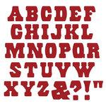 Lifestyle Crafts - Die Cutting Template - Mini Alphabet - Ring Master