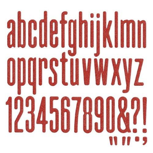 We R Memory Keepers - Die Cutting Template - Alphabet - Lollipop