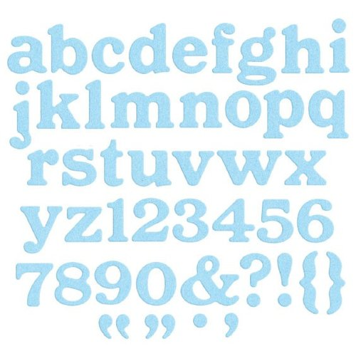 We R Memory Keepers - Die Cutting Template - Alphabet - Parade