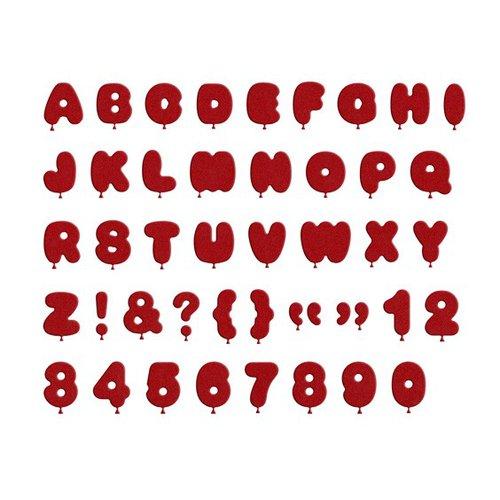 Lifestyle Crafts - Quickutz - Die Cutting Template - Alphabet - Float