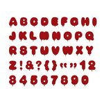 Lifestyle Crafts - Quickutz - Die Cutting Template - Alphabet - Float