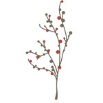 Lifestyle Crafts - Die Cutting Template - Branch and Berries
