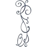 Lifestyle Crafts - Cookie Cutter Dies - Border - Flourish